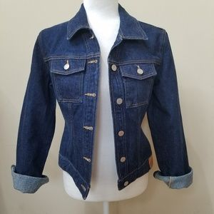 GUESS Dark Wash Jean Jacket